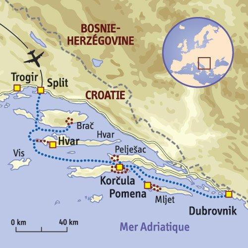 Vers la Croatie